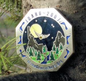 2007 Idaho Geocoin (Slv)