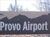 Provo Airport This is the Provo airport, which is in Provo, UT on the eastern side of Utah Lake.