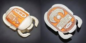 Satin Silver - Orange