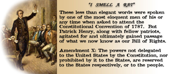 States rights and powers?
