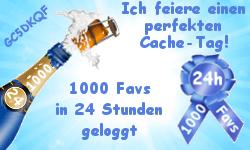 1000 Favs in 24 Stunden (Challenge-Cache)