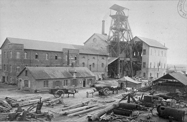 La mine de Pont-Péan en 1893