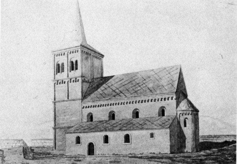 Die erste Pfarrkirche