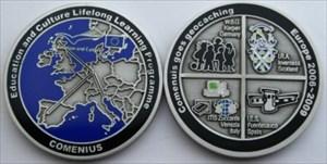Comenius goes Odenwald Geocoin
