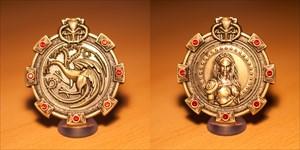 Dragon Treasure II. Geocoin