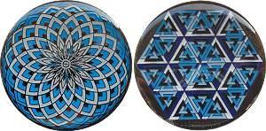 Kaleidoscope Geocoin