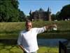 Mighty Moose & Xanadu Traveler. Mighty Moose & Xanadu Traveler in front of castle De Haar near Utrecht, The Netherlands.