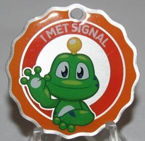 I met Signal Travel Tag