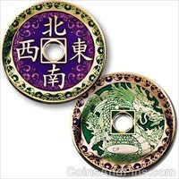 Chinese Dragon Geocoin