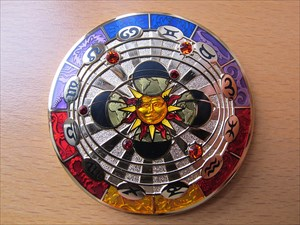 Compass Rose Geocoin 2011 - Twilight