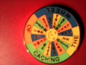 Cachers wheel