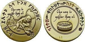 The Lord of the Caches - Gollum Geocoin