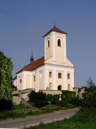 kostel zepredu