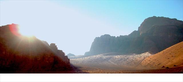 les dunes couvertes de givre