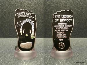 Legend of Bigfoot Geocoin