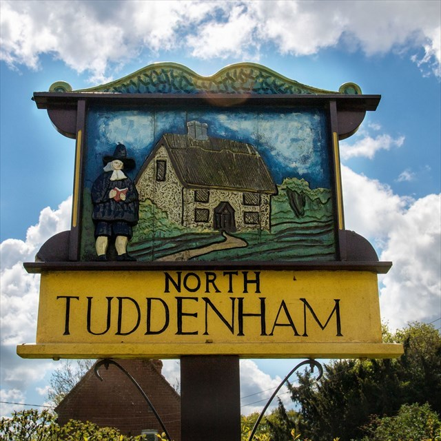 Village Sign North Tuddenham