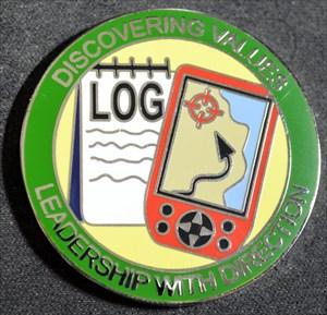 Geocaching Merit Badge - Silver
