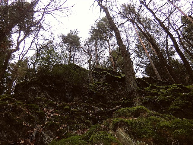 Felsenhöhle-Cache