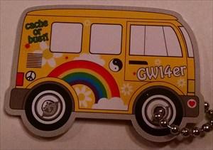 3OK's Yellow Hippy Van