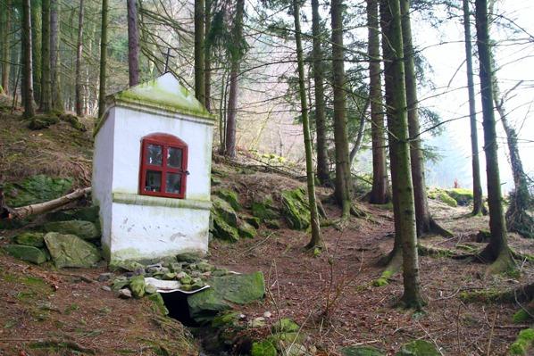 Studánka a kaple sv. Jana