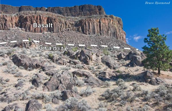 figure 4 granititic basement rock 40 60 million years old
