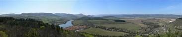 panoramaticky pohled po okoli