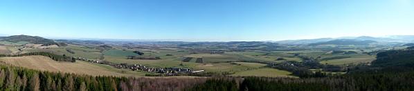 Východní panorama