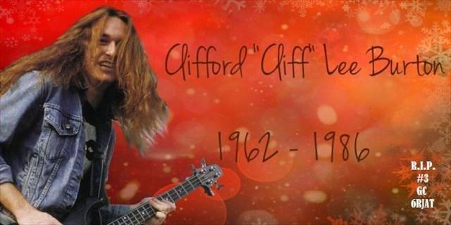 R.I.P. #3 - Cliff Burton
