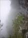 Steep cliffs, heavy rain and almost zero view