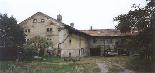Stav pred rekonstrukci