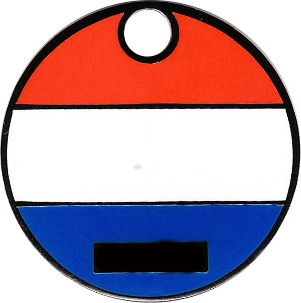 Flags of Europe Geocoin - front