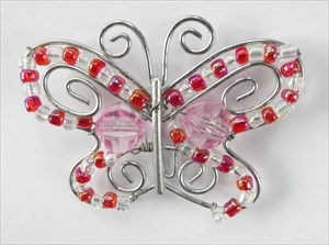 Rosy Flutterby