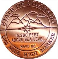 Colorado Geocoin