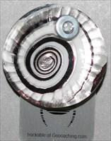 silverwhiteredwavyroundglass
