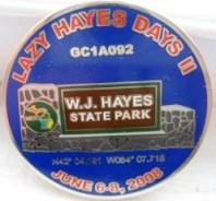 Lazy Hayes Geocoin