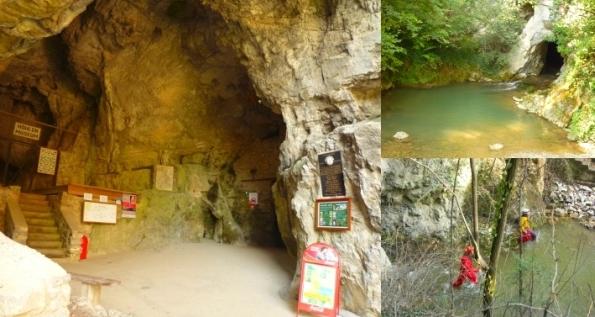 Höhleneingänge