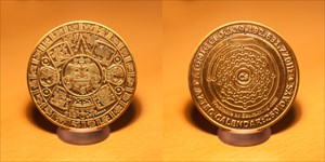 Tracking Time Geocoin