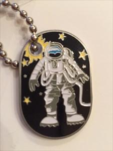 Travel Astronaut Geocoin
