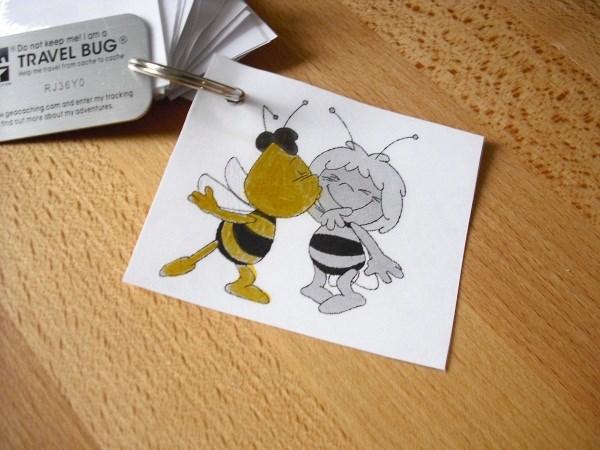 tb404ty travel bug dog tag willi wanderwappen. Black Bedroom Furniture Sets. Home Design Ideas