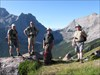 """Gleefull"" after the climb."