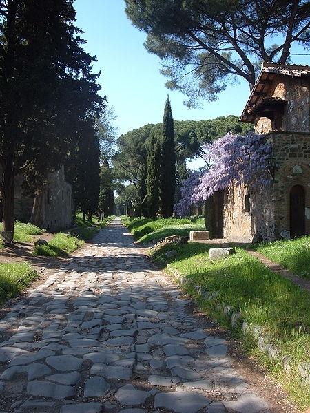Zbytky VIA APPIA v Rime