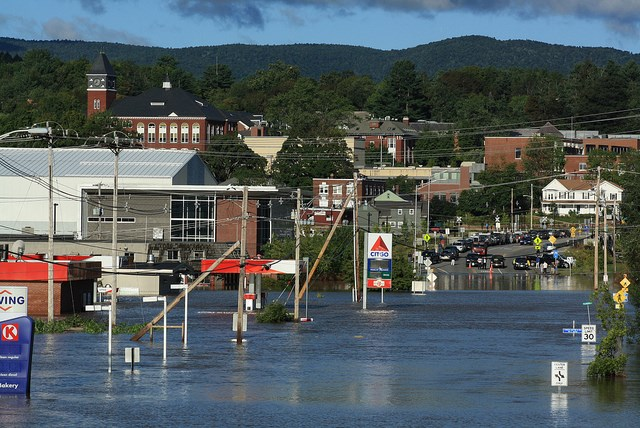 Plymouth (NH) United States  city images : This area has seen its fair share of flooding over the years. Most ...