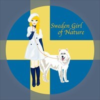 Sweden Girl of Nature
