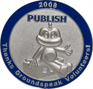 2008 Groundspeak Volunteer Geocoin Publish