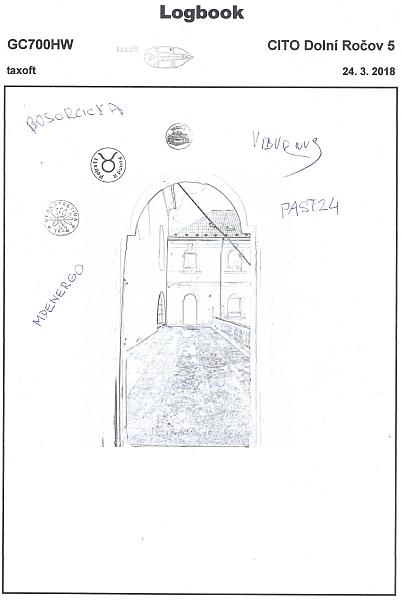GC700HW - CITO Dolní Ročov 5 - logbook