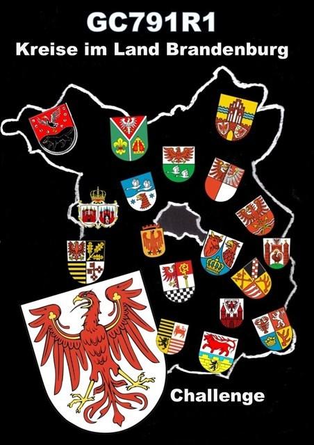 Kreise im Land Brandenburg - Challenge am 08.08.2017