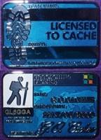 Geocacher's License