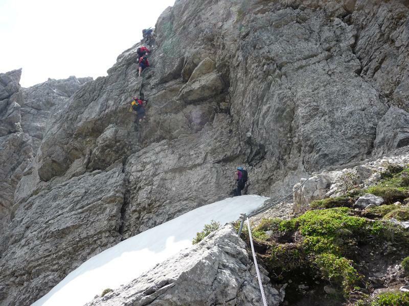 Klettersteig Lachenspitze : Geocaching log by schlamm biker for klettersteig lachenspitze