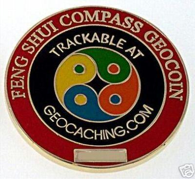 Kosho Feng Shui Compass Geocoin