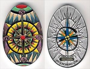 the3defaus' Easter Nav'egg'ation 2007 Geocoin